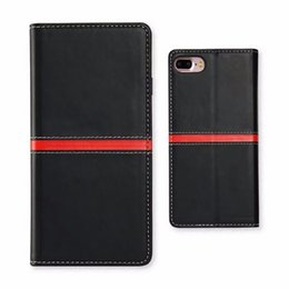 Wholesale book holder phone case - Fashion 2017 Phone Wallet for iphone 7 Leather Case, Book Folio Card Slot Holder Case Cover Stand for iphone 7