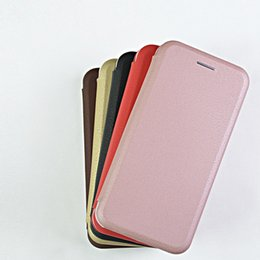 Wholesale Thinnest Sell Phones - Hot Selling Ultra Thin Leather Phone Case For iPhone 7 ,Cell Phone Case For iPhone 6 With Credit Card Holder