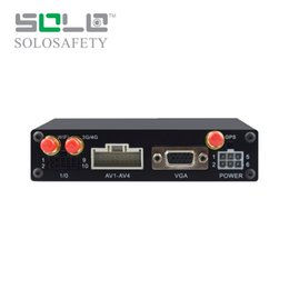 Wholesale 3g Security Camera System - Solochina 4CH HD 720P DVR 3G GPS WIFI 4G Car DVR for Bus Vehicle CCTV Security Camera System 4G Mobile DVR