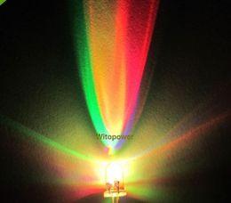rgb perlen Rabatt Großhandels-1000pcs F3 3mm RGB LED Diode rotes grünes blaues langsames buntes Licht der Regenbogen LED Korn-Lampe