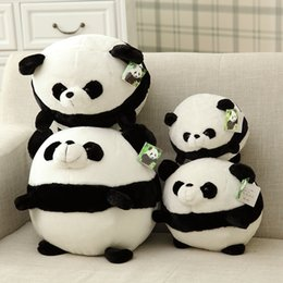 Wholesale Doll Crawls - 20cm New Style 30CM Super Cute Panda Plush Toys Crawl Panda Dolls Soft Stuffed Toy For Kids Lovely Good Quality Special Offer
