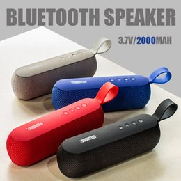 Wholesale Mini Speakers Long - Aibimy MY201BT Portable Speaker Bluetooth 4.2 +EDR Bass 10W 2000mAh Long Time Playing Handsfree Call TF Card USB Slot Multi-Colors