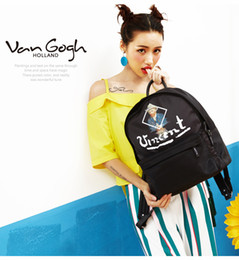 Wholesale NIU Fashion Original Artist Vincent Backpack for Students and Travelers