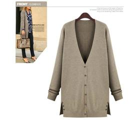 Wholesale Knitting Beautiful Sweaters - Wholesale- Latest Fashion Design Women Autumn Winter Spring Wear Long Sleeve Beautiful Knit Wool Sweater Cardigan XL,2XL,3XL,4XL,5XL