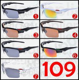Wholesale Cheap Eyeglasses Frames - 2017 Popular Sunglasses Cool Brand New Designer Sunglasses for Men and Women Outdoor Sport Cycling SUN Glass Eyewear 7 colors Cheap Eyeglass