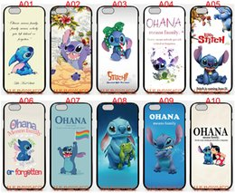 Wholesale Stitch Iphone 4s Cases - Lilo And Stitch For iPhone 6 6S 7 Plus SE 5 5S 5C 4S iPod Touch 5 For Samsung Galaxy S6 Edge S5 S4 S3 mini Note 5 4 3 phone cases