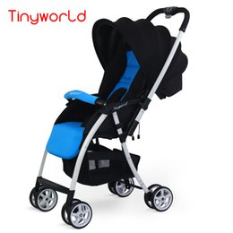 Wholesale Two Fold Umbrella - Fashion Lightweight Baby Stroller, Baby Carriages, Two-way Pocket Cart, Umbrella Car, Take to Airplane, One Hand Folding