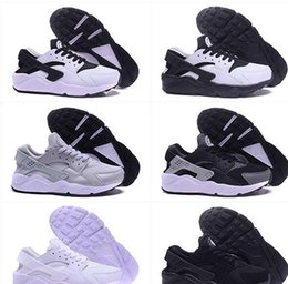 Wholesale Ocean Yellow - Classical Huaraches Ultra breathable running shoes for men and women air Huarache shoes Athletic Sport Sneakers Eur Size 36-46