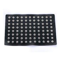 Wholesale display charms - STARLISH BRAND 8 Colors 12MM noosa snap jewelry display holder with 88 pieces 60 pieces and 24 pieces copper buttons on it