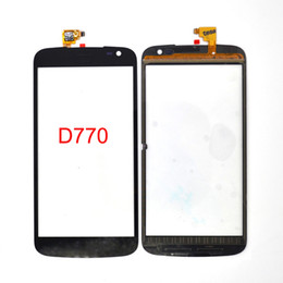 Wholesale touch screen blu - Wholesale Smartphone For BLU Studio X Plus D770 D770L D770U Touch screen Digitizer Sensor Glass Panel Black 100% Tested