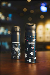 Wholesale Coffee Cup Warm - Taiwan Starbucks PHANTACI vacuum cup Cooperation limited edition thermos cup Stars camouflage stainless steel coffee cup