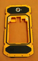 """Caso de antena on-line-Atacado-Usado Original Quadro de Volta case + vidro da câmera + Antenas para NO.1 X6800 MSM8916 Quad Core 5.5 """"HD 1280x720 Frete grátis"""