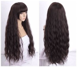 Wholesale High Heat Synthetic Wigs - Free shipping Quality Fashion Picture full lace High wigs Women Curly Wavy Heat Resistant Synthetic Hair Cosplay Party Wig gz-38