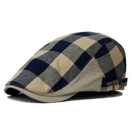 Оптовая торговля-лето и осень мужская мода восьмиугольный Cap Газетчик cap дамы берет шляпа плоские шапки мужчины старинные хлопок берет шляпы для женщин от