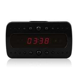 Cámara de reloj despertador 1080P con video de visión nocturna y grabación de audio activada por movimiento por control remoto para vigilancia de seguridad en el hogar desde fabricantes