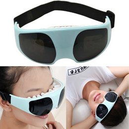 Wholesale Eye Forehead Massager - Alleviate Fatigue Eye Relax Massager Electric Forehead Migraine Massage Mask