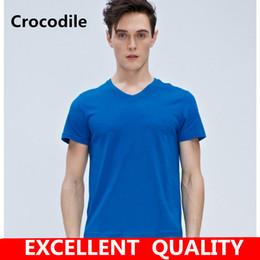 Krokodil kostüme online-2017 neue lustige t-stück nette t-shirts homme pumba männer männer baumwolle cool t-shirt schöne kawaii sommer jersey kostüm t-shirt krokodil stickerei