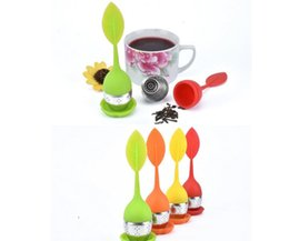 Wholesale Make Cast Iron - MINI Silicone Tea Infuser with Food Grade make tea bag filter creative Stainless Steel Tea Strainers Free DHL
