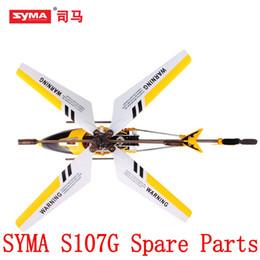 Argentina Cubierta de la cabeza Eje interno Engranaje de la cola Tubería de soporte para Syma S107 S107G Para R / C Helicóptero Rc Accesorios Suministro