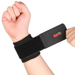 Wholesale Elastic Bands For Fitness - Wholesale- Adjustable Sport Elastic Stretchy Wrist Support Wrist Joint Brace Support Wrap Band Wrist Support Wristband Use For Fitness
