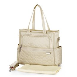 Wholesale Mother Baby Care - Wholesale- maternity mummy nappy bag multifunctional mother handbag care bags high quality waterproof baby diaper bag