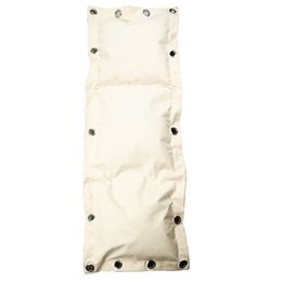 Wholesale Kung Fu Bags - 112x40cm Wing Chun 3-Sections Empty Punching Bag Kung Fu MMA Kicking Wall Bag Boxing Sand Bag
