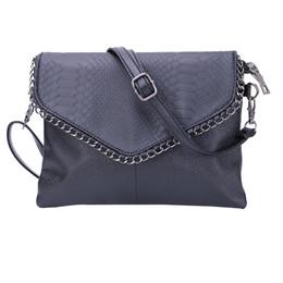 Wholesale cheap wholesale tote handbags - Wholesale-Cheap Women Envelope Bag Pu leather Handbag shoulder bags Ladies Crossbody Sling Messenger Bag Purses Blue Black Brown 7 colors