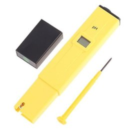 Wholesale Hydroponic Water - Wholesale- NEW Digital PH Meter Tester Pocket Portable Pool Water Aquarium Hydroponic Wine