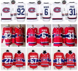 Wholesale Blue Grey Classic - 2018 100 100th Classic Montreal Canadiens Carey Price Jersey Max Pacioretty Shea Weber Andrew Shaw Brendan Gallagher Jonathan Drouin White