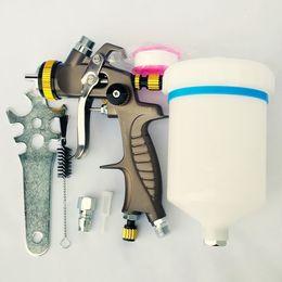 Wholesale Lvlp Gun - LVMP spray gun 1.3mm gravity feed type paint gun 600ml paint sprayers spray painting gun professional quality