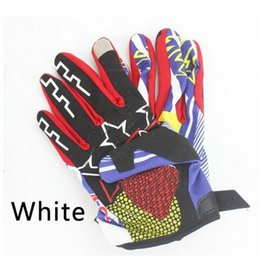 Wholesale Red Global - 2017 fashion full finger motorcycle cycling gloves with design motocross gloves men The global hot sales