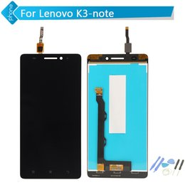Nota k3 online-All'ingrosso-Originale per Lenovo K3 Note Display LCD Touch Screen Digitizer per Lenovo K50 Assembly + Tools