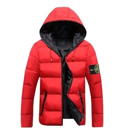 Wholesale Formal Hoodie - 2017 spring casual wave Hoodie STONED JACKET European American retro island jacket washed special autumn Cotton coat black red blue