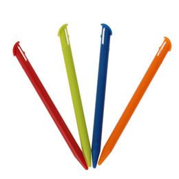 Wholesale Nintendo Stylus Pens - Wholesale- 4Pcs Lot Multi-Color Plastic Touch Screen Pen Stylus Pen for New Nintendo 3DS XL