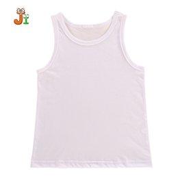 Wholesale Undershirt Child Boy - 2017 New Hot Baby Tops Children Vest Boys Summer T Shirts Solid Good Quality Comfortable Cotton 2-10Y Children undershirt kids Tees Clothes