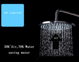 Wholesale Finish Shower Accessories - 2017 Hotel Use 5 Star Bathroom Accessories 10 Inches Copper Shower Head Polish Finish Shower Fixture
