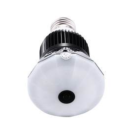 Wholesale Mini Hidden Home Camera - 16GB Memory 1296P VR360 Wireless Bulb Light IP Spy Camera Wi-fi Full View Mini CCTV Camera 13MP Home Security WiFi hidden Camera PQ249A