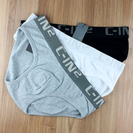 Wholesale Tight Underwear For Men - Male famous brand name c-in2 Sexy tights sling penis warm thick rope mens underwear briefs underpants cuecas man's shorts long boxer for man
