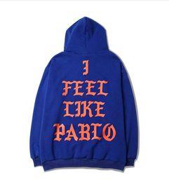 Wholesale Paul Hoodies - New Arrival Men Hoodies Earnings YEEUS Clothing I feel like Paul Season 3 Hip hop Kanye West Pablo Sweatshirts Chinese size