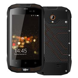 Wholesale Shockproof Waterproof Gps Phone - Original AGM A2 Waterproof phone IP68 2GB RAM 16GB ROM OTF NFC GPS MSM8909 Quad Core 8MP Shockproof Smartphone
