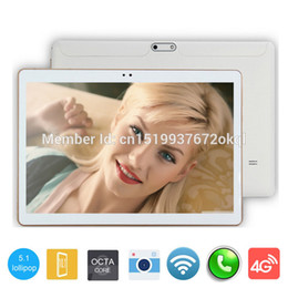 Wholesale Laptop Tablet Gps Wifi - Wholesale- 10 inch MTK8752 Octa Core Tablet PC 4GB RAM 32GB ROM WIFI OTG 3G WCDMA Mini android 5.1 Tablet Laptop tablets GPS Pad tablet