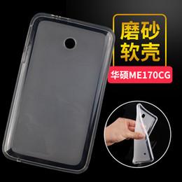 2019 compressa protetta All'ingrosso-Ultra Slim Soft TPU Gel Protector Shell Cover Tablet proteggere caso per Asus FonePad 7 FE170CG FE170 FE7010CG K012 compressa protetta economici