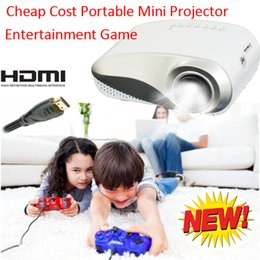 Wholesale Cheap Xbox Games - Wholesale-2016 New Cheap Price Projector Durable Portable Mini Proyector HDMI USB VGA SD Comaptaible Phone Game PS Xbox Projecteur