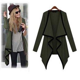 Wholesale Thin Cardigan Jackets For Women - Wholesale-Kimisohand 2016 New Arrival Fashion Women Long Sleeve Casual Knit Sleeve Thin Sweater Coat Cardigan Jacket Outwear for Autumn