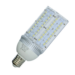 Wholesale E27 Led Street Lamp - High Power CREE E40 E27 LED Street Light 28w 30w 40w 50w 60w 80w 100w Led corn lights bulbs Garden Road Lighting Lamp