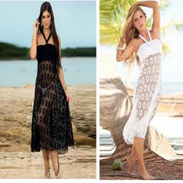 Toptan-YENİ! Moda Blanco Cabrio Cover Up Etek, Dantel Tığ Mayo Plaj Etek Swim Kapak Up Beachwear, Kadın Plaj Elbise nereden