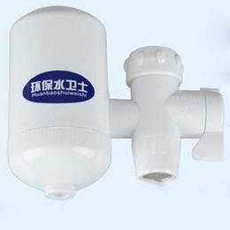 Wholesale Electric Taps - Tap water purifier Tap water electric wave filter Environmental the water Health tap water faucet, high-tech ceramic valve core,