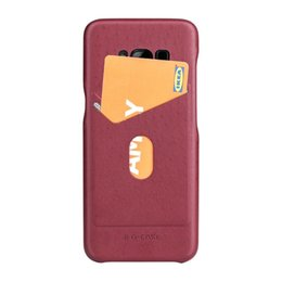 Wholesale Iphone G Cases - G-Case Card Slot Shockproof Back Case For iPhone X Full Protective Drop Proof Cover for Samsung Galaxy Note 8 S8 Plus