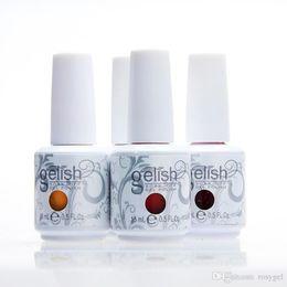 Wholesale Gelish Nails - 100pcs 305colors hamony gelish soak off uv gel nail polish nail gel lacquer varnish gelish nail polish