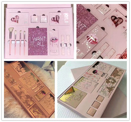Wholesale Charm Color Cosmetics - DROPSHIP kylie cosmetic Kylie Jenner I WANT IT ALL The Birthday Collection Makeup Set Vacation bundle Charming August Bug bundle